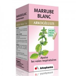 Arkopharma Arkogélules Marrube Blanc - Apaise les voies respiratoires