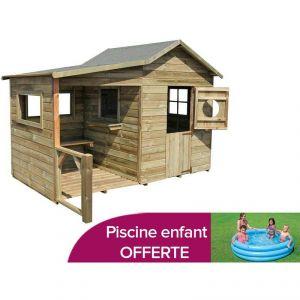 Forest Style Hacienda - Maisonnette en bois