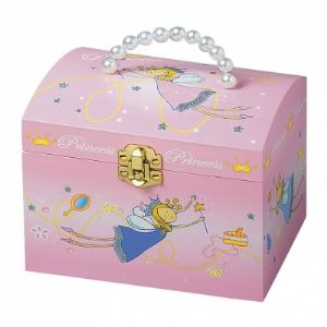 Trousselier Boîte à bijoux musicale Princesse