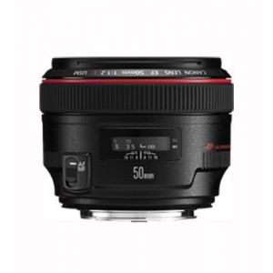 Canon 1257B005AA - Objectif - 50 mm - f 1.2 L USM