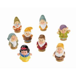 Fisher-Price Little People Blanche Neige et les 7 nains