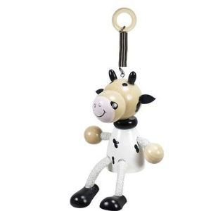 Mobile à ressort Vache