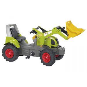 Rolly Toys Tracteur à pédales Claas Arion 640 avec chargeur