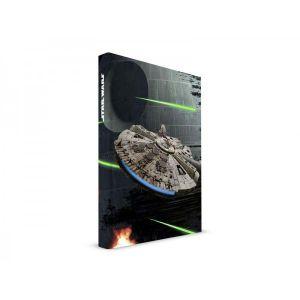 SD Toys Cahier sonore et lumineux Millenium Falcon Star Wars