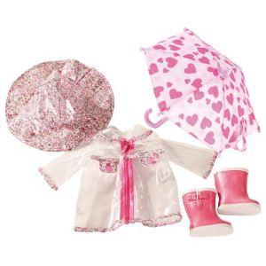 Gotz Manteau et parapluie pour poupée (45-50 cm)