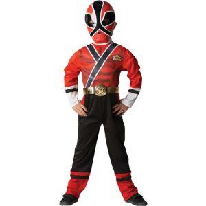 Déguisement Power Rangers rouge (3 à 8 ans)