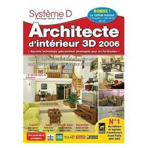 Architecte d 39 interieur 3d 2006 pour windows comparer for Architecte 3d interieur
