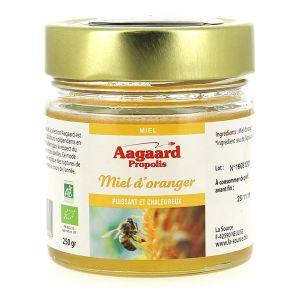 Aagaard propolis Miel de fleurs d'oranger BIO Esp 250g