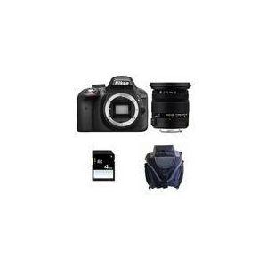 Nikon D3300 (avec objectif Sigma 17-50mm)