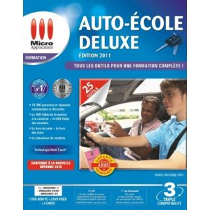 Auto Ecole - Edition 2011 Deluxe pour Windows
