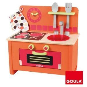 Goula Cuisinière en bois