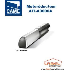 Came 001A3000A - Motoréducteur ATI irréversible pour portails battants 3 m vantail 230V 2 fins de course 28s