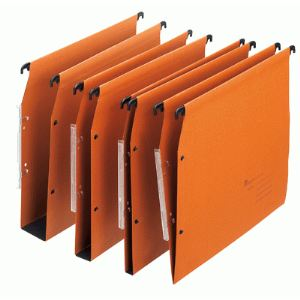 Majuscule 336294792502 - Paquet de 25 dossiers suspendus Eco en kraft (fond : 30 mm)