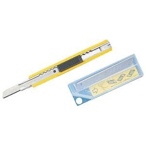 Olfa AB10 - Étui de 10 lames de cutter petit modèle (lame 9 mm)