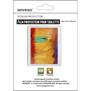 Novago 2 films Ultra-transparents de haute qualité pour Samsung Galaxy note 10.1'' Edition 2014 P600