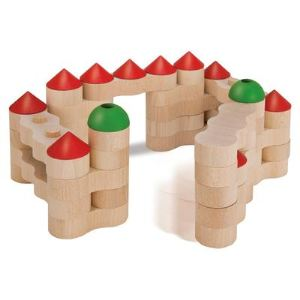 Heros Briques de construction en chaînes Château fort