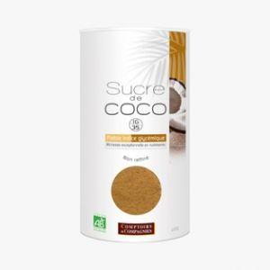 Comptoirs et Compagnies Sucre de coco bio non raffiné 400 gr