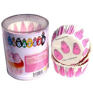Scrapcooking Caissettes Barbapapa en papier décoratif