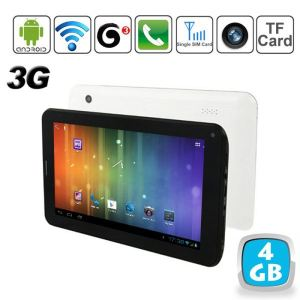 "Yonis Y-tt5g4 - Tablette tactile 7"" 3G sous Android 4 (4 Go interne)"