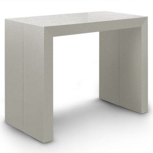 Menzzo Table console extensible Lasso XL 4 rallonges