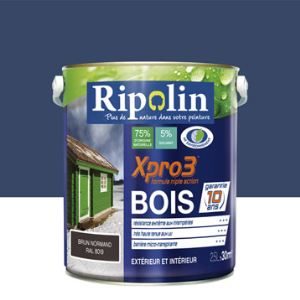 Peinture ripolin bleu comparer 97 offres for Peinture bois wenge