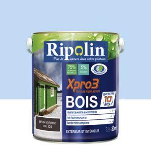 Ripolin Peinture Xpro3 Bois satin 2,5 litres