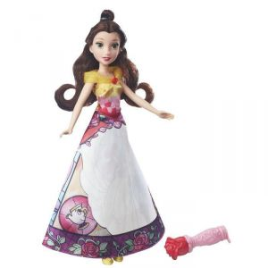 Hasbro Poupée Disney Princesses : Belle robe magique