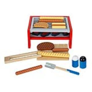 Goki Barbecue en bois avec accessoires