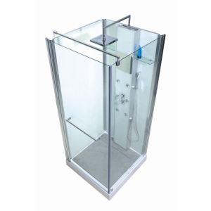 Gelco Cabine de douche hydromassante Vogue (90 x 90 cm)