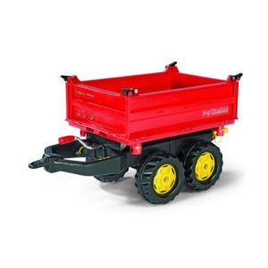 Rolly Toys Remorque Mega Trailer pour tracteur à pédales
