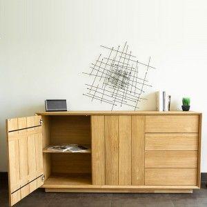 Delorm Design Epure - Buffet en chêne massif