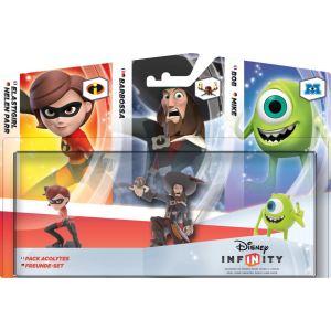 Disney Interactive Studios Disney Infinity figurines pack Acolytes : ElastiGirl, Bob et Barbossa