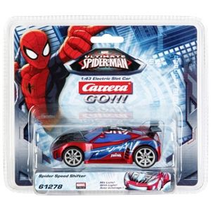 Carrera Toys 61278 - Ultimate Spider-Man Speed Shifter pour circuit Go!!!