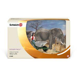 Schleich 41409 - Kit de soin pour éléphants