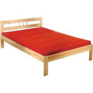lit pin massif 140x190 comparer 1029 offres. Black Bedroom Furniture Sets. Home Design Ideas