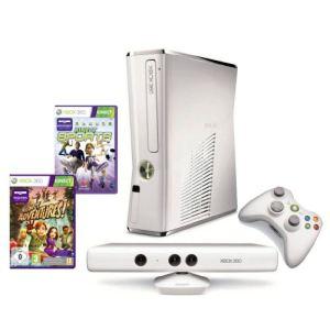 Microsoft Xbox 360 Slim 4Go + Kinect + Kinect Sports + Carte Xbox Live 3 mois