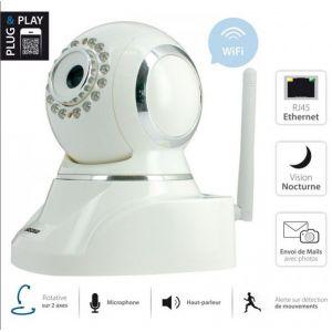 Sedea 555100 - Caméra intérieure IP motorisée