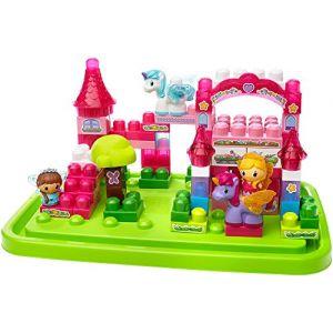 Mega Bloks First Builders 80416U - Maxi Lil' Princesse Baril Château