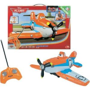 Dickie Toys Dusty gonflable RC, 27 MHz - Avion radiocommandé