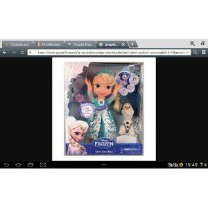 Poupée Elsa qui chante La Reine des Neiges 41 cm (Version anglaise)