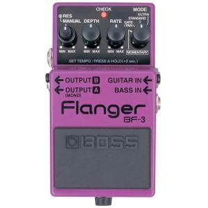 Boss Effect Flanger BF-3 - Pédale d'effet pour guitare