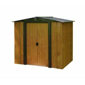 Chalet et Jardin BM 65 - Abri de jardin en métal aspect bois 2,50 m2