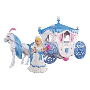 Mattel Disney Princesses Cendrillon MagiClip avec calèche