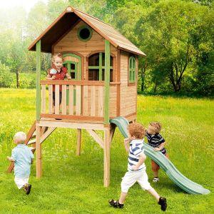 Axi Laura - Maisonnette en bois sur hauts pilotis