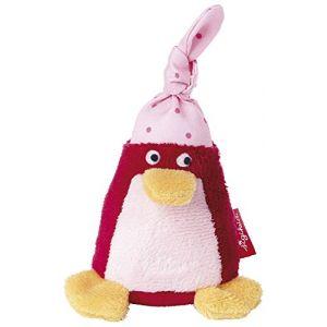 Sigikid Hochet Pingouin avec bonnet