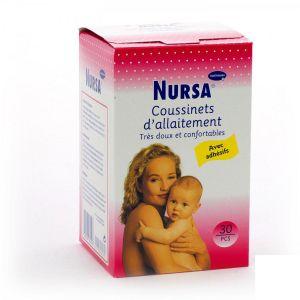 Hartmann Nursa - 30 coussinets d'allaitement