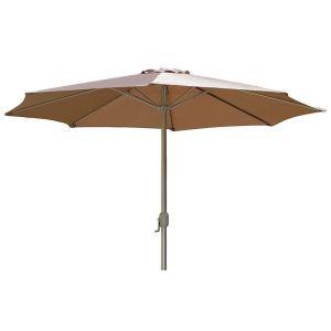 Parasol à manivelle Ø 300 cm