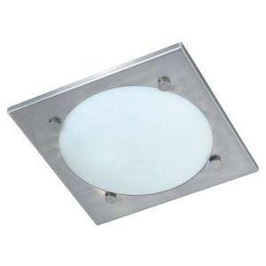 Branex Design Plafonnier Vado en inox et verre (28 cm)