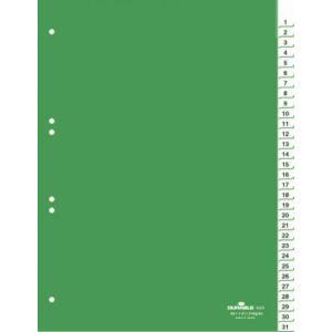 Durable Intercalaire à répertoire journalier numéroté 31 touches (A4)