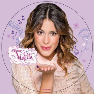 Dekora Disque azyme Violetta pour décoration de gâteau(20 cm)